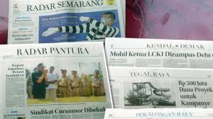 Salah satu koran daerah