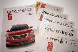 Iklan Nissan di Surat Kabar