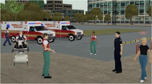 Video Game untuk Simulasi Darurat